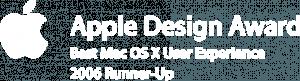 Apple Design Award 2006