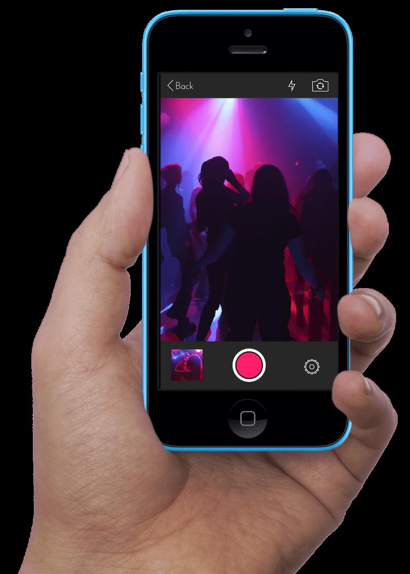 PartySnapper iPhone